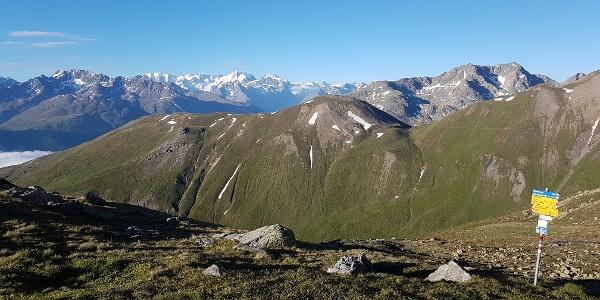 Blick von der Es-cha Hütte