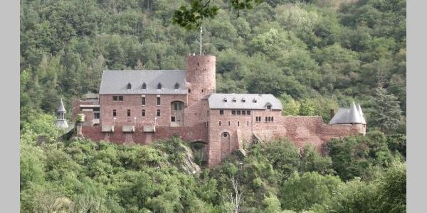 Das Ziel Burg Heimbach