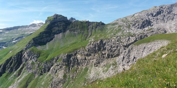 Ein weiteres Gipfelziel für heute: Gorfion, 2308 m.