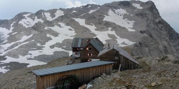 Blick zum Panüelerkopf 2859 m.