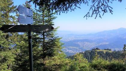Ww Hinteres Gätterle, 1590 m, Beginn des alpinen Steigs.