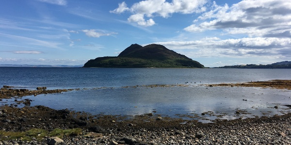 The Holy Isle from Lamlash