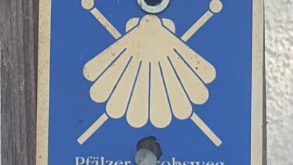 """Wegbeschilderung """"Pfälzer Jakobsweg"""""""