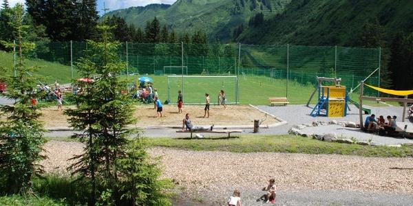 Spiel- und Sportplatz Damüls