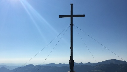 Gipfelkreuz Riedbergerhorn