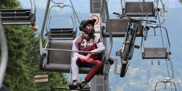 Sessellift   Rennsteig Bikearena Steinach