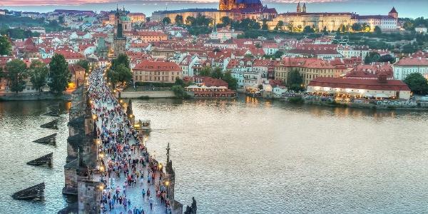 Prag Karte Offentliche Verkehrsmittel.Tagesfahrt Nach Prag Exkursion Outdooractive Com