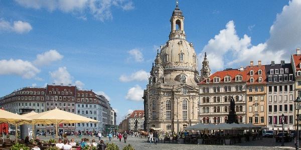 Blick auf Frauenkirche