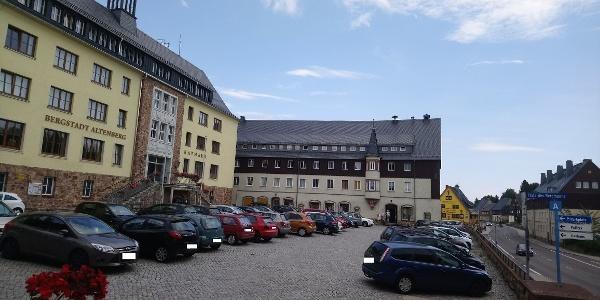 Parkplatz Platz des Bergmanns