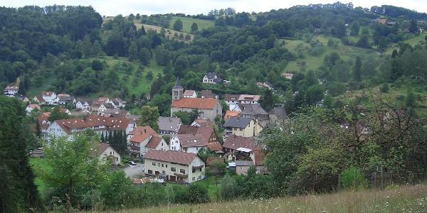 Das Dorf Spiegelberg