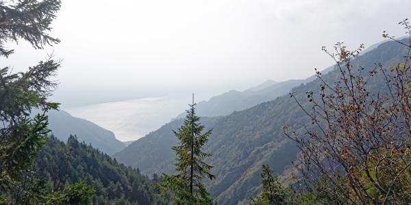 Bocca dei Fortini. Blick auf Gardasee