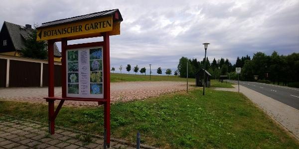 Parkplatz Botansicher Garten