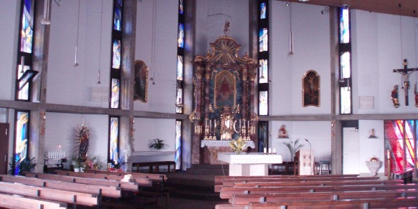 Weinberg, Kirche St. Mariä sieben Schmerzen