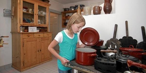 Alte Küchenutensilien im Laurentiushof
