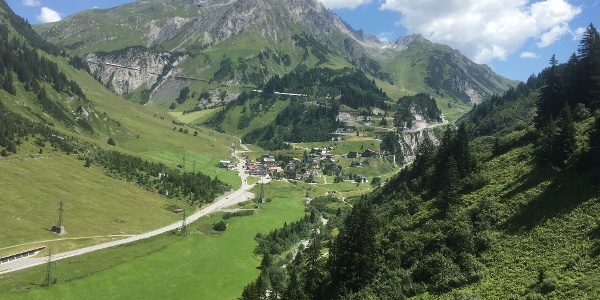 Im Tal bei Stuben/ Vorarlberg