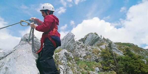 Klettersteig Brunnistöckli.