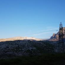 Blick vom Sanetschpass auf die Lapis de Tsanfleuron