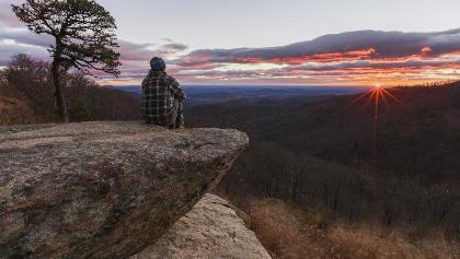 Sunrise at Shenandoah National Park, VA