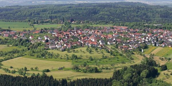 Ortsbild Adelsberg