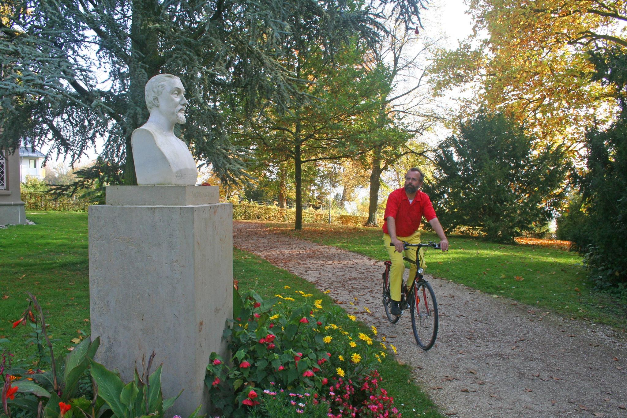 Scheffeldenkmal auf der Halbinsel Mettnau (Radolfzell)