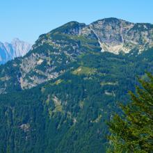 Blick über das Hagertal auf den Unterberg mit Hefferthorn