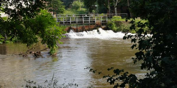 Wasserablauf Kottmannsmühle