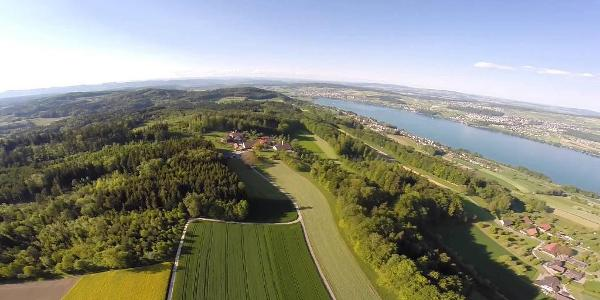 Homberg / Hallwilersee with DJI Phantom 2 and Zenmuse H3-3D