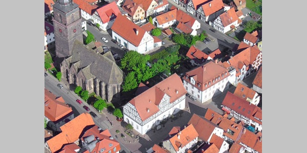 Die Altstadt in Grebenstein