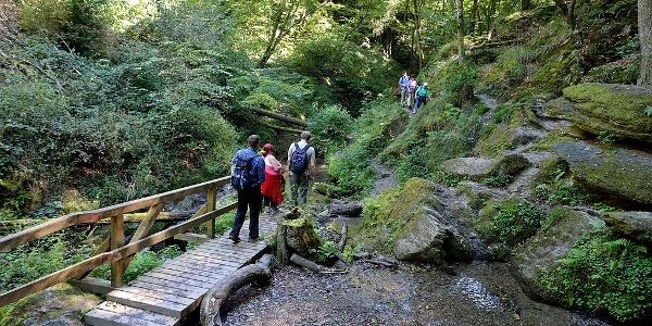 Ehrbachklamm - Brücke Mermuther Bach