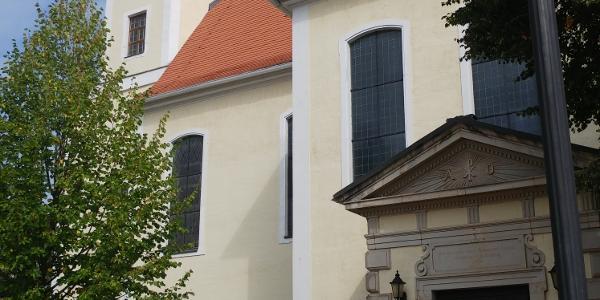 Startpunkt Kirche Zwenkau