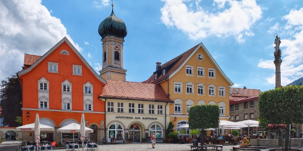 Cafés am Marienplatz