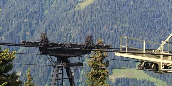 Hochjoch cable car