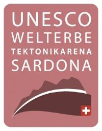 Logo UNESCO-Welterbe Tektonikarena Sardona