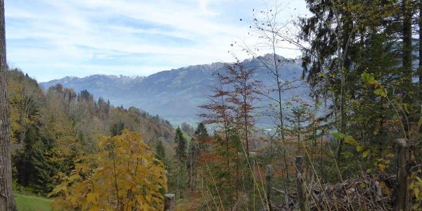 Blick Richtung Giswil vom Grossteilerberg