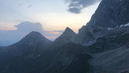 Ausblick von der Südwandhütte.