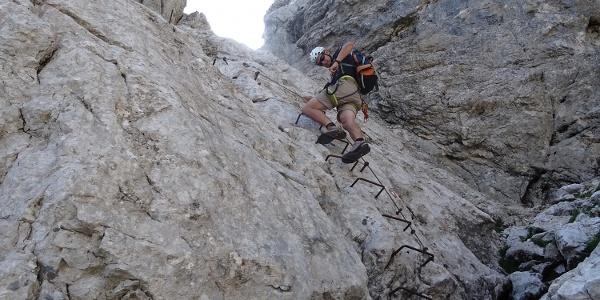 Am Klettersteig