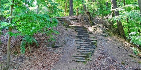 Treppe zum Marienhäuschen