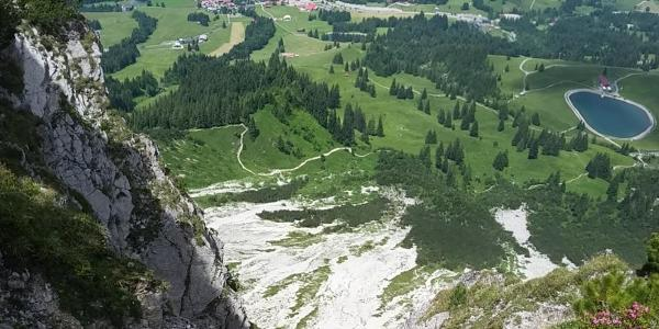 Blick auf Oberjoch