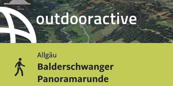 Wanderung im Allgäu: Balderschwanger Panoramarunde