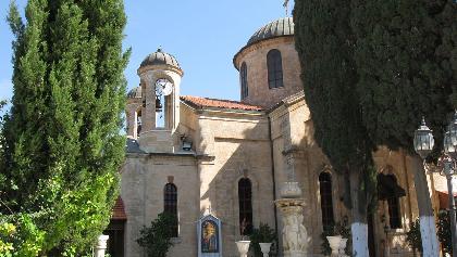 הכנסייה האורתודוקסית בכפר כנא
