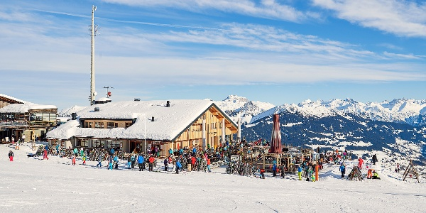 Berghof Golm im Winter