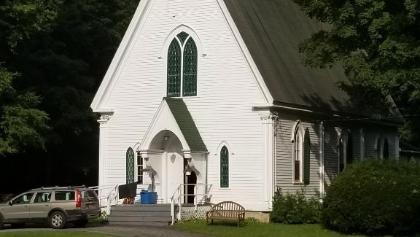 Church at the base of Brandon Gap