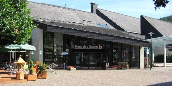 Eingang Touristinfo / Haus des Gastes Bad Laasphe