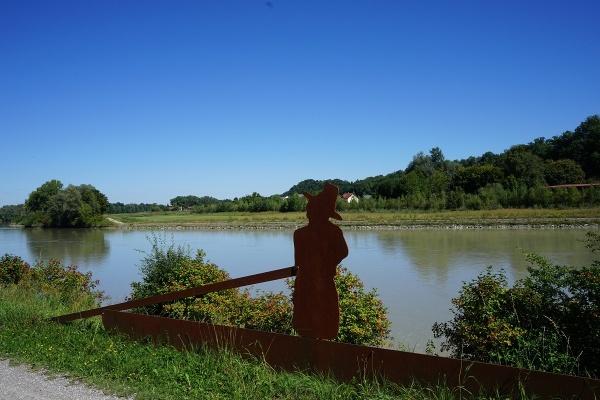 Innschifffahrtsdenkmal in Rosenheim