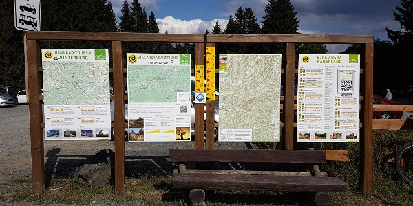 Startpunkt bei Winterberg