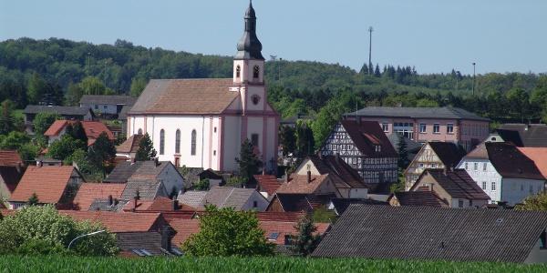 Blick auf Götzingen