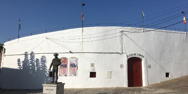 Plaza de Toros (Bull Ring) in Aracena.