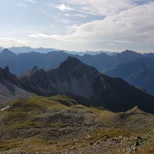 Aussicht von der Rinnenspitze