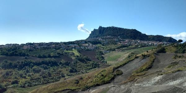 Blick nach San Marino