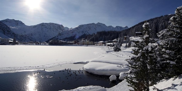 Obersee im Winter